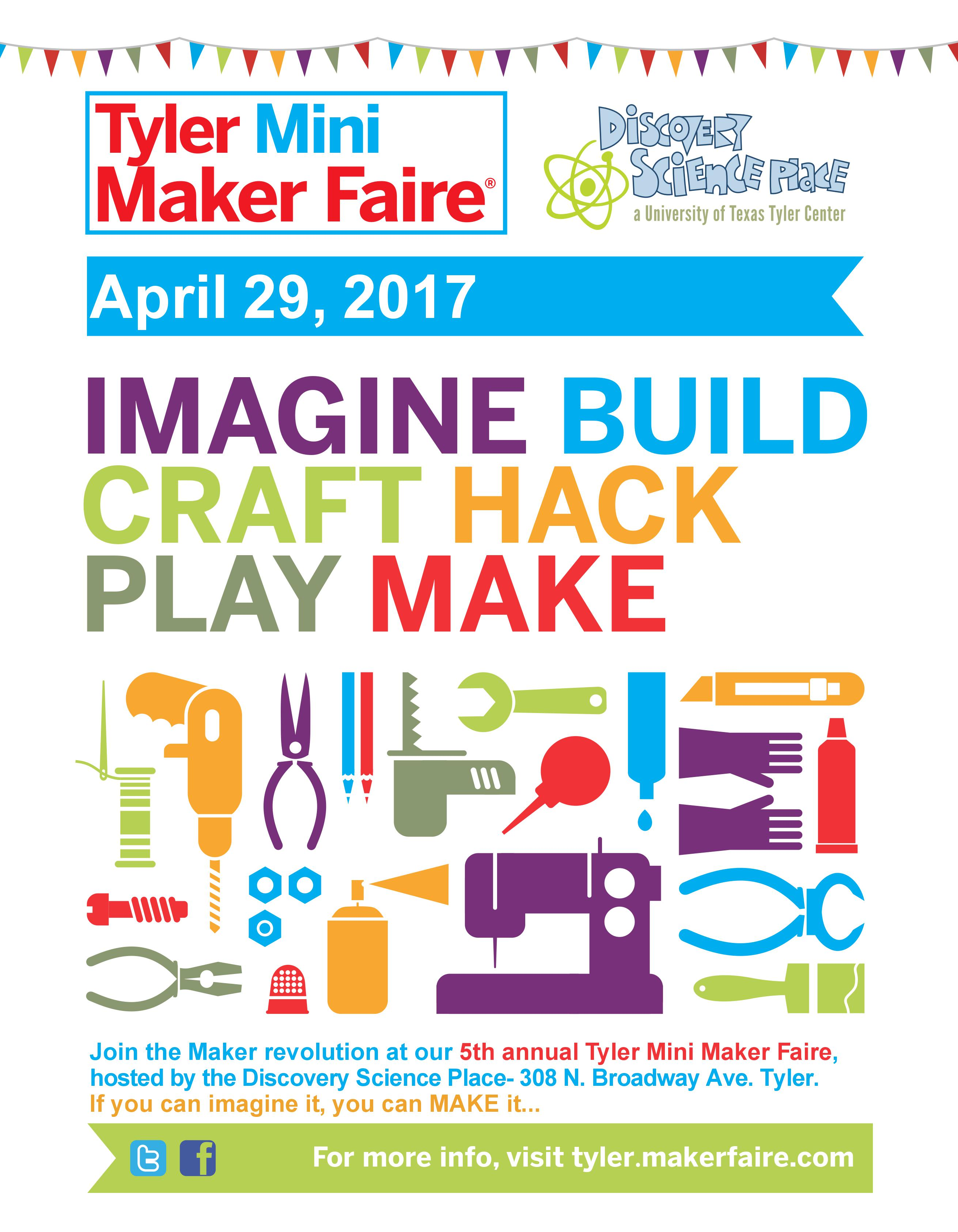 university academy discovery science place mini maker faire to be